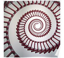 MOMA spiral chairs Poster