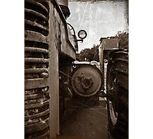 A old tractor: II Photographic Print