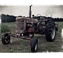A old tractor: I Photographic Print