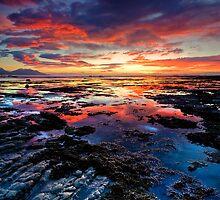Kaikoura dawn blush by Ken Wright