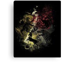 Constellation of Thrones Canvas Print