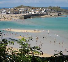 'Happy Days' St Ives, West Cornwall by Anne Sanders