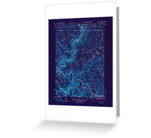 Massachusetts  USGS Historical Topo Map MA Rowe 352124 1947 31680 Inverted Greeting Card