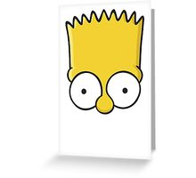 Bart Simpson Greeting Card