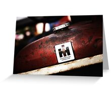 International Harvester: In the Rust  Greeting Card