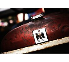 International Harvester: In the Rust  Photographic Print
