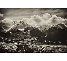 Road to the Mountains Photographic Print