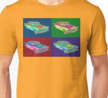 1958 Plymouth Savoy Classic Car Pop Art Unisex T-Shirt