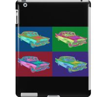 1958 Plymouth Savoy Classic Car Pop Art iPad Case/Skin