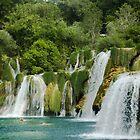 Krka Falls by Blaz Erzetic