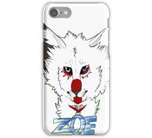 zoe headshot iPhone Case/Skin