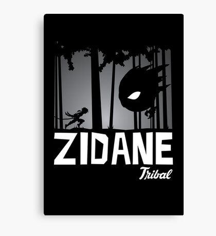 Zidane Tribal Canvas Print
