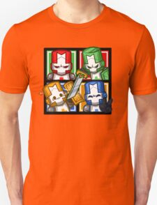 Castle Crashers Four-Square Unisex T-Shirt
