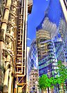 The Lloyds Building - The Gherkin - The Willis Building - HDR by Colin J Williams Photography