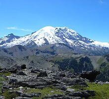 Mt Rainier by trexwell