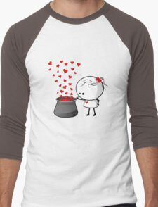Secret love formula Men's Baseball ¾ T-Shirt
