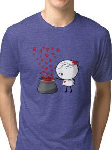 Secret love formula Tri-blend T-Shirt