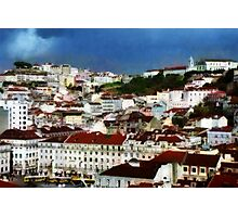Roofs of Lisbon Photographic Print