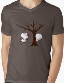 First Love Mens V-Neck T-Shirt