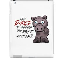 Halo 3- Hippo Hero iPad Case/Skin