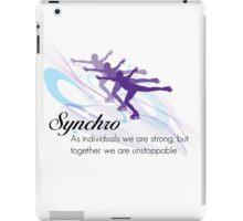 Synchro iPad Case/Skin