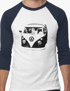 VW Camper Men's Baseball ¾ T-Shirt
