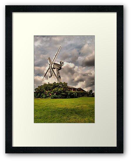 Kentish Smock Mill by JEZ22