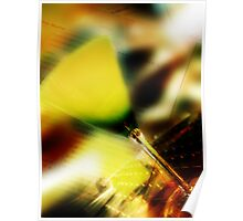 yellow glass Poster