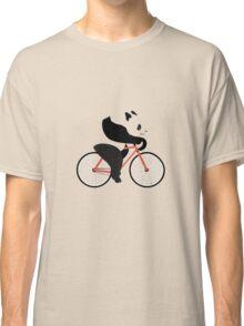Cycling panda geek funny nerd Classic T-Shirt