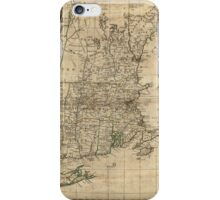 Bowles's Map of the Seat of War in New England (1776) iPhone Case/Skin