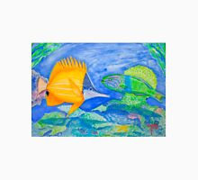 tropical fish. yellow and parrott fish. peixe papagaio Unisex T-Shirt
