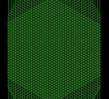 Gridlines08 (Signed Print ver.) by Dragoncat