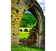 Through the Archway Photographic Print