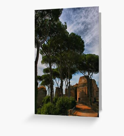 On Palatine Hill Greeting Card