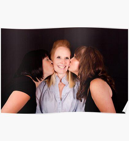 Rebecca, Leanne & Kim 8195 Poster