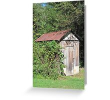 Gramma's Garden Shed Greeting Card