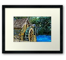 Old Watermill Framed Print