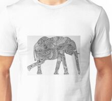 Elephant Design Unisex T-Shirt