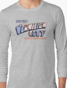 Greetings from Vermilion City Long Sleeve T-Shirt