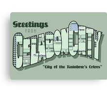 Greetings from Celadon City Canvas Print