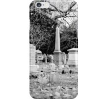 Deep Within Evergreen Cemetery iPhone Case/Skin