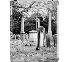 Deep Within Evergreen Cemetery iPad Case/Skin