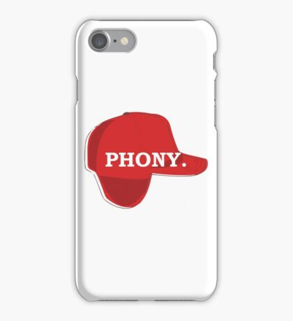Catcher in the Rye Shirt – Holden Caufield, Phony iPhone Case/Skin