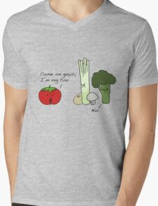 Tomatoes Don't Fit In Mens V-Neck T-Shirt