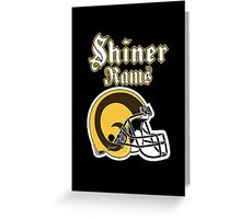 Shiner Rams Greeting Card