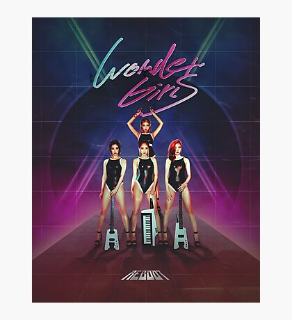 Wonder Girls - Reboot Design Photographic Print