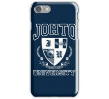 Johto University iPhone Case/Skin