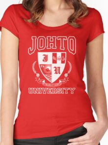 Johto University Women's Fitted Scoop T-Shirt