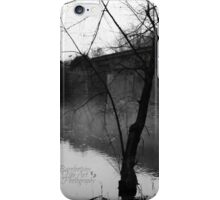 Fog on the River iPhone Case/Skin