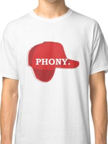 Catcher in the Rye Shirt – Holden Caufield, Phony Classic T-Shirt